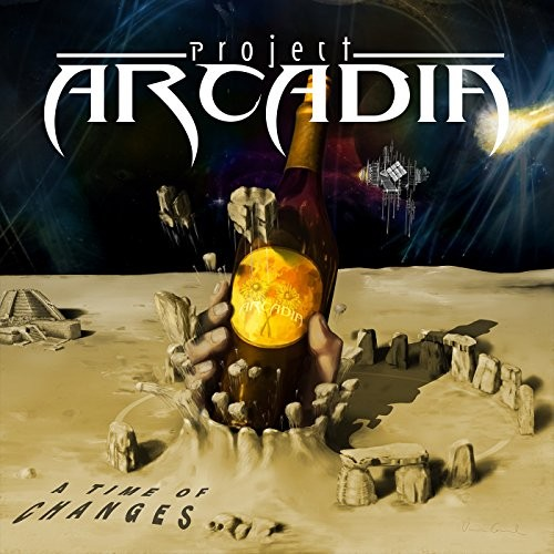Album PROJECT ARCADIA A Time Of Changes (2014)