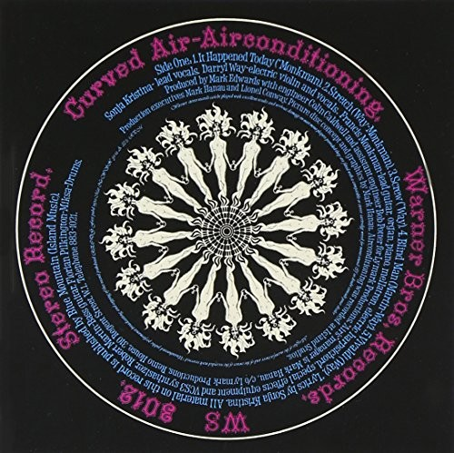 Album CURVED AIR Air Conditioning (1970)
